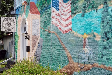 Sante Fe Bicycle Outfitters Mural