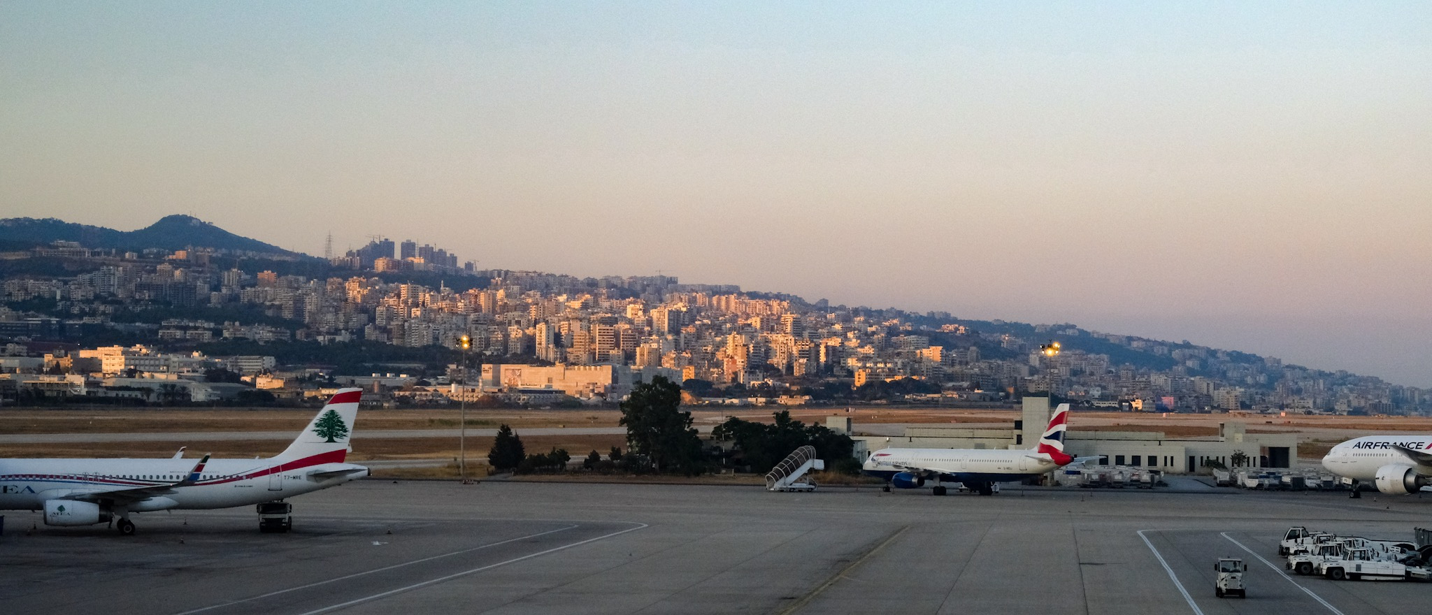 Beirut Airport is the only way to get to Mejdlaya